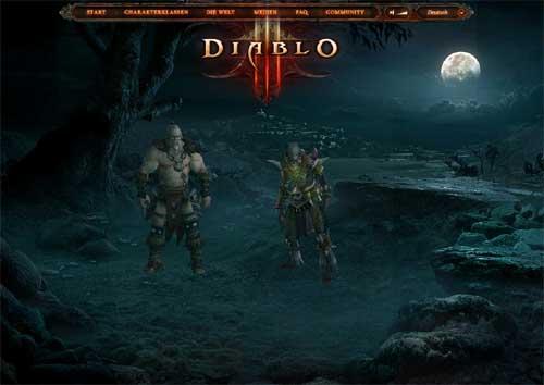 Charakterklassen Diablo III